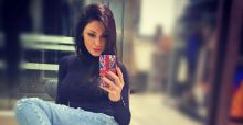 Anna Tatangelo cambia look: per l'inverno, hair style scuro ma ultra glossy