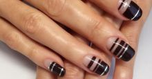 Fate largo alla Negative Space Nail