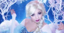 Make-up da favola: truccati come Elsa, la principessa di Frozen