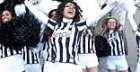 Le 'zebre', le bellissime cheerleaders della Juventus