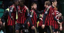 Celtic-Milan 0-3: Kakà guida i rossoneri, decisivo l'ultimo match con l'Ajax