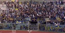Coro Morosini in Livorno-Verona 0-2, il video
