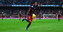 Neymar, sombrero e goal in Barcellona-Villareal: il video
