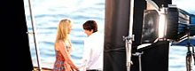 Ashton Kutcher e Katherine Heigl sul set di