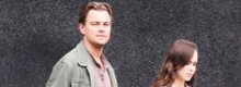 Leonardo Di Caprio sul set del nuovo film 'Inception'