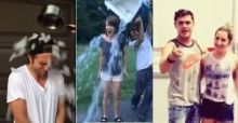 La secchiata gelata degli attori di Hollywood: ecco le star dell'Ice Bucket Challenge, da Robert Pattinson a Zac Efron