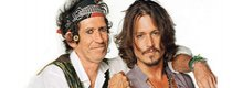 Depp: documentario su Keith Richards