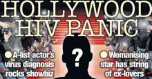 Hollywood in allarme, una star dello showbiz ha l'Hiv