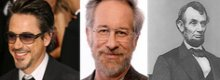 Spielberg tra Robert Downey Jr. e Lincoln
