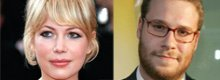 Michelle Williams e Seth Rogen in