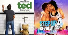 Uscite film weekend 4 ottobre, dall'irriverente orsetto Ted a Step Up 4 Revolution 3D
