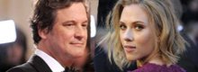 Colin Firth e Scarlett Johansson in