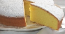 Torta Paradiso senza lievito e burro 