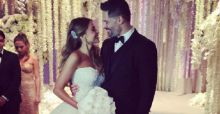 Sofia Vergara e Joe Manganiello matrimonio da favola a Palm Beach: le foto