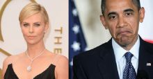 Charlize Theron, gaffe con Obama: