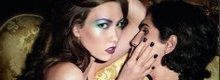 Karlie Kloss per Yves Saint Laurent Cosmetics Fall 2010: Rock & Baroque