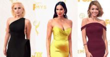 Emmy Awards 2015, celebrities da red carpet. Ecco chi ha vestito le star