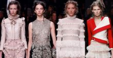 Paris Fashion Week 2015, Alexander Mcqueen: romanticismo vittoriano in chiave contemporanea