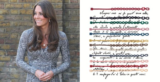 detailed look 71f69 66d40 Kate Middleton con il braccialetto Cruciani: modello per lei