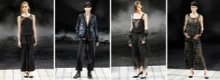 Abiti da sera Chanel: look dark e aggressivo
