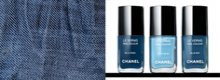 Les Jeans de Chanel, gli smalti denim inspired
