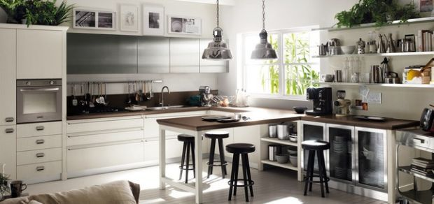 Foto cucine all 39 americana catalogo scavolini 2014 for Catalogo arredamento casa