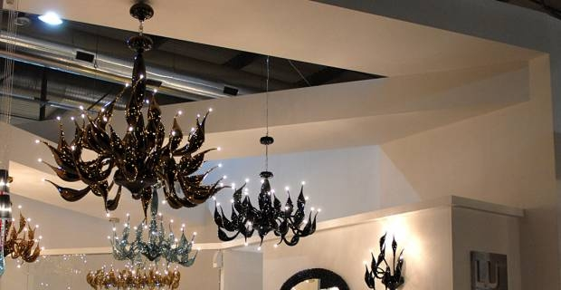 Lampadari murano moderni   living by excite it
