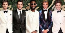 British Fashion Awards 2015: red carpet al maschile