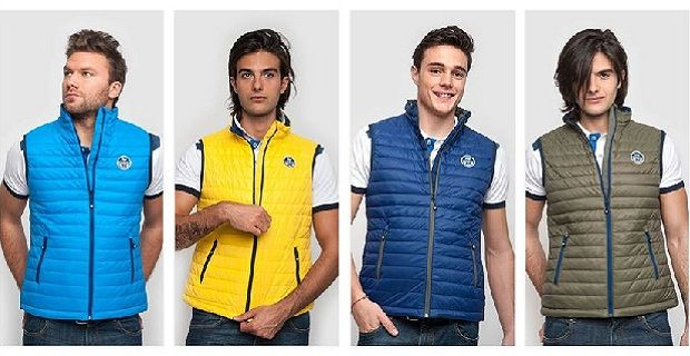 Gilet uomo North Sails, foto catalogo primavera estate 2014
