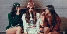 Sexy modelle per una linea maschile, l'idea di Primitive Apparel Holiday 2013 (foto)