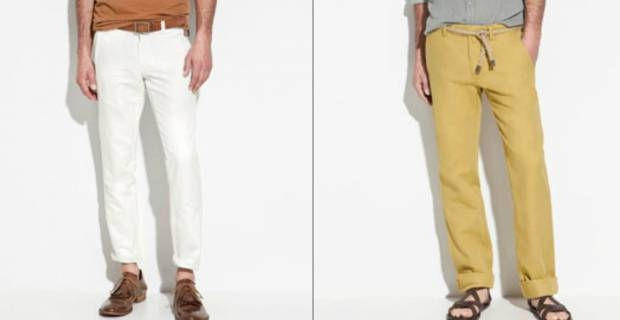 Popolare Pantaloni Di Lino Per Uomo, In O Out?: Online Su Lui By Excite IT IJ11