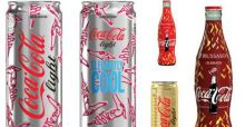 Trussardi rifà il look a Coca-Cola: bottiglie e lattine in limited edition