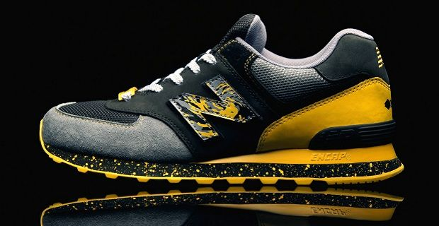 new balance gialle