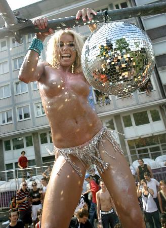 Love Parade in Germania