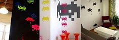 Space Invaders mania, le foto