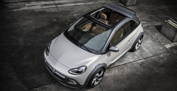opel adam cabrio su excite it motori. Black Bedroom Furniture Sets. Home Design Ideas