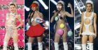 MTV Video Music Awards 2015, regina sul palco una nudissima Miley Cyrus (FOTO)