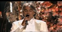 Andrea Bocelli: My Christmas con David Foster, il video