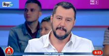 Matteo Salvini ad Agorà Estate: