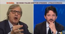 Sgarbi show a In Onda, attacca i conduttori e abbandona lo studio (VIDEO)