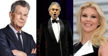 Music for Mercy, l'evento su Rai1 con Bocelli e David Foster. Eleonora Daniele alla conduzione (Anteprima Excite.it)