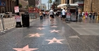 Passeggiando per la Hollywood Walk of Fame