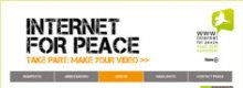Premio Nobel per la pace a Internet, marketing per Wired?