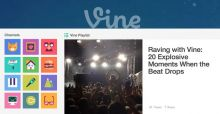 Vine rinnova i video sul Web e diventa lo Youtube da 6 secondi